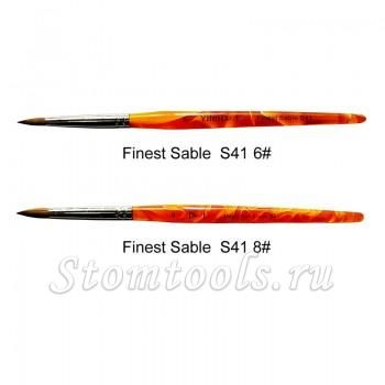 Dental S41 Finest Sable Ceramic Orange Pen